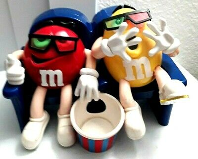 $21.89 • Buy M&M's M&M MMS Candy Dispenser RARE Yellow Red VINTAGE