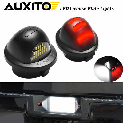 $16.99 • Buy 2pcs License Plate Light LED SMD For Ford Pickup Truck F-150 F250 F350 1983-2016