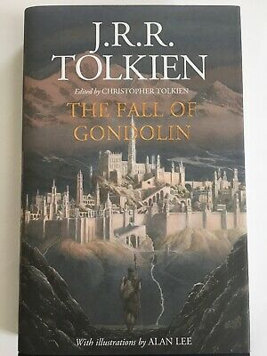 £150 • Buy The Fall Of Gondolin By J.R.R. Tolkien, Signed By The Illustrator