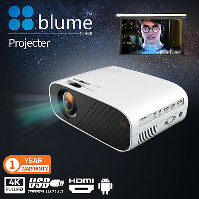 AU108.90 • Buy New Portable Pocket Projector HD 1080P LED Home Theater Video Projector HDMI USB