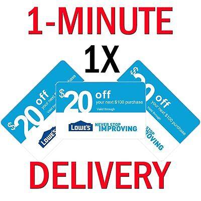 $2.95 • Buy 𝟑× (THREE) Home Depot $20 Off $200 ONLINE Only-3Coupons **INSTANT DELIVERY**