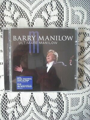 Barry Manilow - Ultimate Manilow   20 Tack Cd Album  • 2.59£