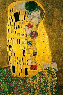 $ CDN25.05 • Buy Gustav Klimt The Kiss 1908 Art Nouveau Print Laminated Poster 24x36