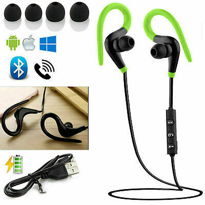 Wireless Bluetooth Sweatproof Headphones Earphone For IPhone Samsung Sports Gym  • 3.99£