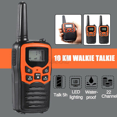 $ CDN29.49 • Buy Set Of 2 Long Range Walkie-Talkie 10(km) Two Way Radio Charge Headset Waterproof