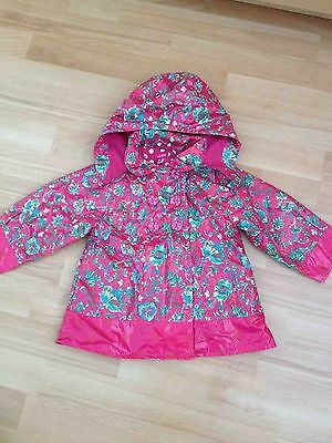 Baby Girl Marese Raincoat, Size 12 Months - VGC • 12£
