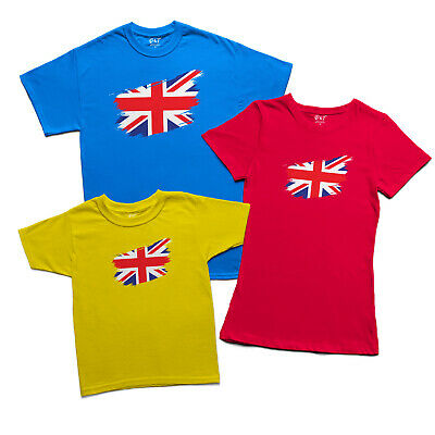 £9.99 • Buy British Flag T-shirt Distressed Union Jack Ripped UK St Georges Day Top Mens Tee