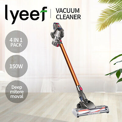 AU179.90 • Buy Lyeef Handheld Vacuum Cleaner Cordless Bagless Stick Handstick Vac Recharge 5In1