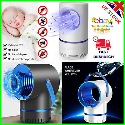 £10.99 • Buy Electric UV LED Light Mosquito Killer Insect Zapper Pest Trap Fly Catcher Lamp