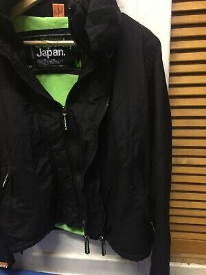 """Super Dry Japan The Wind -cheater Bomber Boys Winter Jacket Size Uk M/chest 36"""" • 24.99£"""