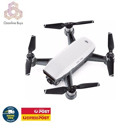 AU855 • Buy DJI Spark Fly More Combo Drone Alpine White * AU STOCK *