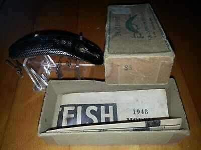 $ CDN23.99 • Buy Vintage Helin Tackle Flatfish In Correct Box (s3)