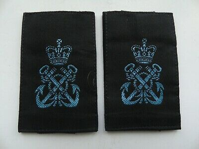 Womens Royal Naval Service Petty Officer Rank Slides - New - WRNS • 2.99£