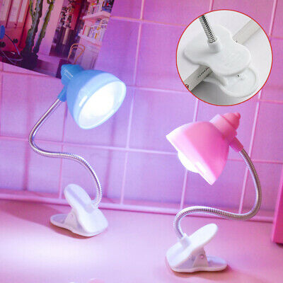 Clip-on Reading Light Flexible LED Clamp Lamp Table /Study/Bed/Laptop/Desk • 3.21£