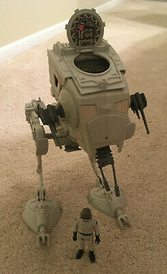 $ CDN93.43 • Buy Star Wars Vintage Kenner AT-ST Vehicle With Driver Figure
