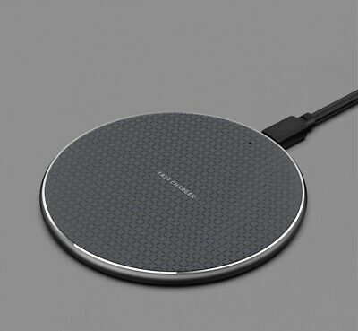 AU13.99 • Buy Qi Wireless Charger FAST Charging Pad For Apple/Samsung /Android Mobile Phones