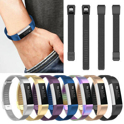 AU11.72 • Buy For Fitbit Alta HR/ACE Mesh Milanese Loop Metal Stainless Steel Watch Band Strap