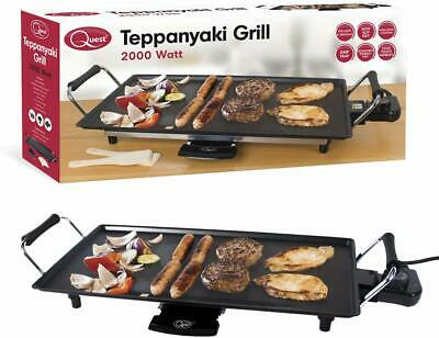 £41.72 • Buy Quest Non-Stick Electric Teppanyaki Table Top Grill 2000W