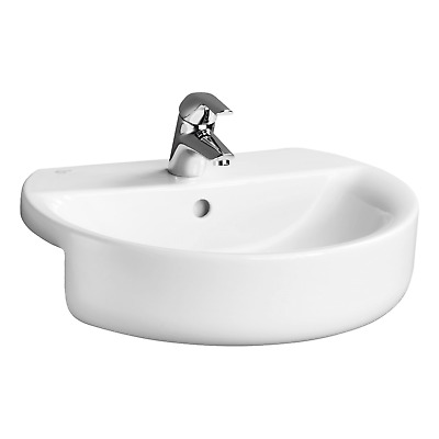 IDEAL STANDARD CONCEPT SPHERE 55CM SEMI-COUNTERTOP BASIN(Only) ONE TAP HOLE  • 50£