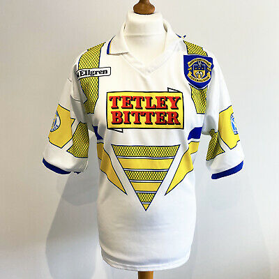 RARE LEEDS RHINOS 1993/94 Ellgren Alternative Rugby League Shirt Jersey (L) RLFC • 79.99£