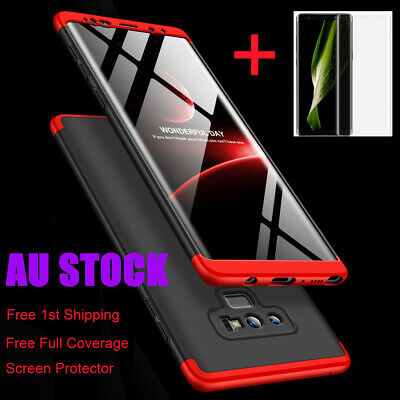 AU9.39 • Buy Shockproof 360°Slim Cover Case For Samsung Galaxy Note 9 S10 S9 S8 S20 Plus 5G