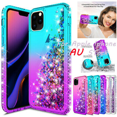 AU8.98 • Buy For Apple IPhone 11 Pro Max X Xs Xr Luxury Quicksand Bling Diamond Case Cover