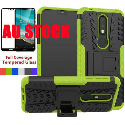 AU8.79 • Buy For Nokia 5.1 Plus/7.2/6.2/4.2/2.1/2.2 Heavy Duty Shockproof Stand Case Cover