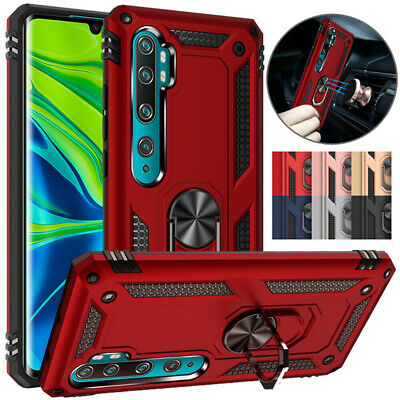 $5.55 • Buy For Xiaomi Mi Note 10 Pro 9 Lite 9T Case Shockproof Hard Armor Ring Holder Cover