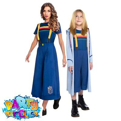 Adult Kids Doctor Who Costume Book Day Week Cosplay TV Film Fancy Dress Outfit • 16.99£