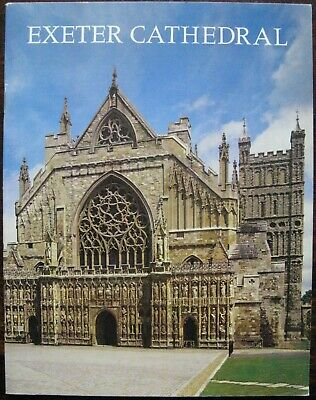 Exeter Cathedral Guide Book By Marcus Knight 1988 • 5£
