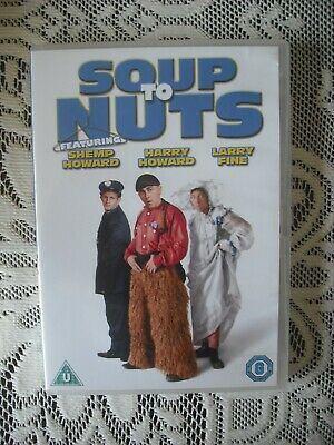 The Three Stooges - Soup To Nuts [DVD] [1930][Region 2] • 2.99£