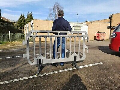 40 Crowd Control Barriers Used • 500£