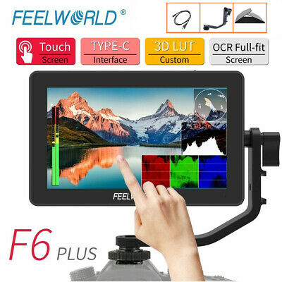 AU226.76 • Buy Feelworld F6 Plus 4K HDMI Monitor 5.5  IPS Touch Screen 3D Video Camera DSLR