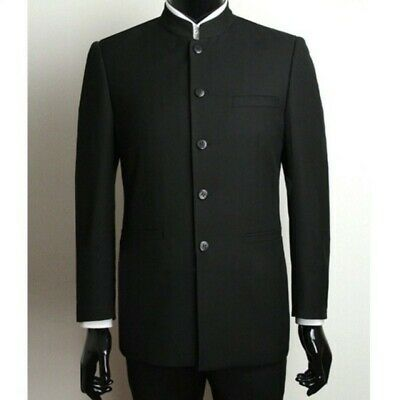 $54.40 • Buy Mens Chinese Style Suit Coats Jackets Business Gentleman Long Sleeve Solid Chic