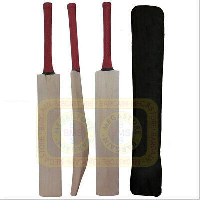 £20 • Buy English Willow Cricket Bat Custom Made Full Size Bat W/ Fitted Toe Guard + Cover