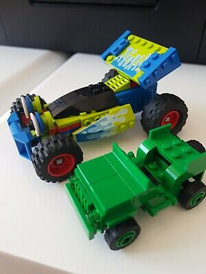 £10 • Buy Lego Toy Story Vehicles RC 7590 And Green Army Jeep 7595