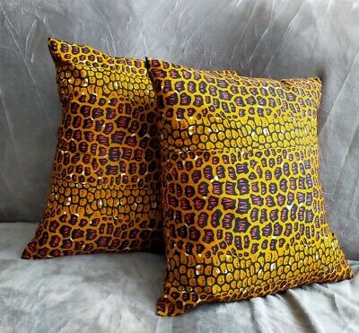 African Print Cushion Cover • 6£
