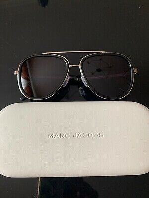 Marc Jacobs Womens Black & Silver Sunglasses,56-17-145,filter 3,RRP 215£ • 40£