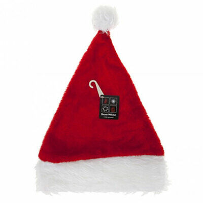 £3.35 • Buy Adults Plush Christmas Santa Claus Hat With White Furry Trim Xmas Party