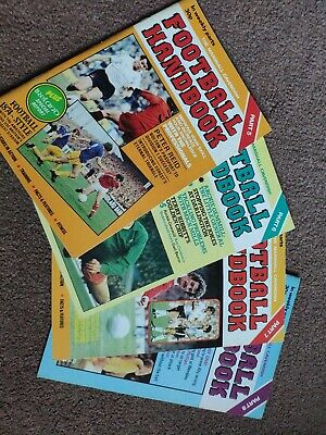 Marshall Cavendish Football Handbook Vol 5-8 • 5£