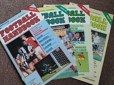 Marshall Cavendish Football Handbook Vols 9-12 • 5£