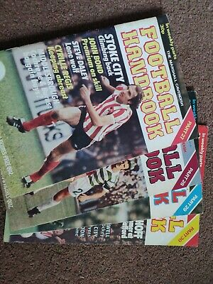 Marshall Cavendish Football Handbook Vols 27-30 • 5£