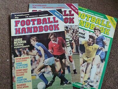 Marshall Cavendish Football Handbook 19, 22, 28 • 4£