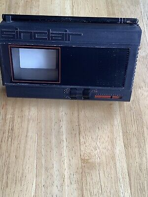 Retro Sinclair Vintage Pocket Tv Model-ftv1 With Display Stand In Working Order • 9.99£