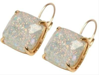 $ CDN38.98 • Buy KATE SPADE Opal Glitter Square Leverback Earrings