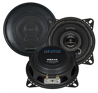 £45.99 • Buy BMW Quality Car Speakers 10 Cm 4  For 1 3 5 Series,Shallow Slim With Adaptors  !