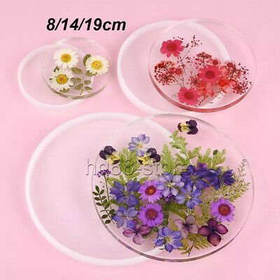 £5.89 • Buy Resin Casting Round Coaster Mold Epoxy Agate Jewelry Making Mould Craft Mould UK