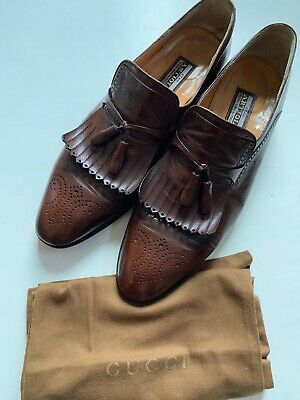 $ CDN133.62 • Buy Men Star Artioli Brown Leather Salvatore Loafers Shoes Sz 11 W/ Bally Shoes Bag