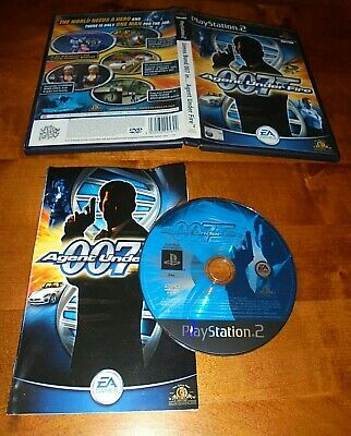 007 Agent Under Fire Sony Playstation Ps2 Complete In Gwc + Free Uk Post • 2.50£