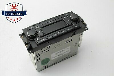 $89.94 • Buy 2005 2007 Jeep Grand Cherokee Radio Stereo CD MP3 Player Unit 05091176AA OEM